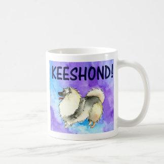 Keeshondのマグ コーヒーマグカップ