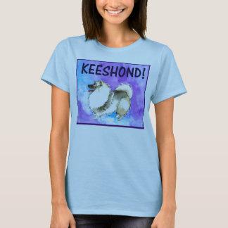 Keeshondの女性のT Tシャツ