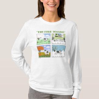 Keeshondの4季節 Tシャツ