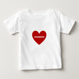 Keeshond ベビーTシャツ