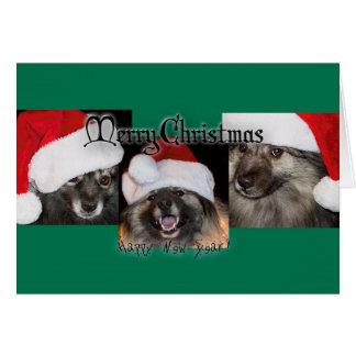 Keesieのメリーなクリスマス! カード