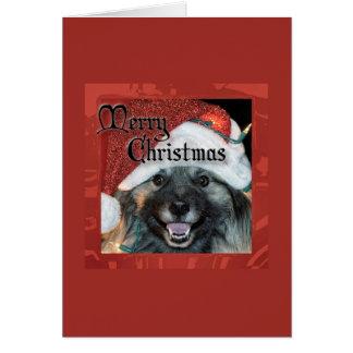 Keesieのメリーなクリスマス カード