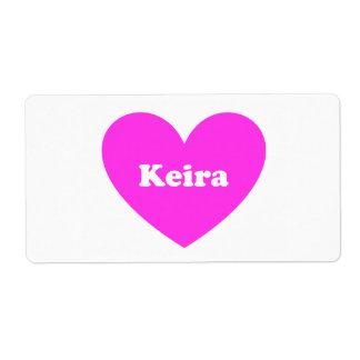 Keira ラベル