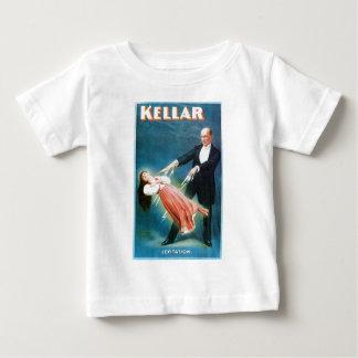 Kellarの~の浮揚の手品師のヴィンテージの魔法の行為 ベビーTシャツ
