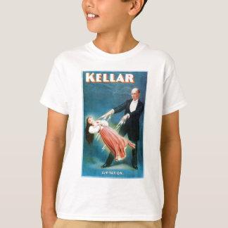 Kellarの~の浮揚の手品師のヴィンテージの魔法の行為 Tシャツ