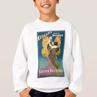 Kellarの~の金蝶ヴィンテージの魔法の行為 スウェットシャツ