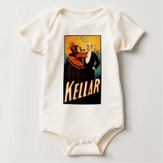 Kellar -悪魔が付いている飲み物 ベビーボディスーツ