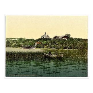 Kellersee、Schleswigホルスタイン、壮麗なドイツ ポストカード