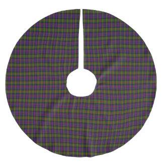 Kellieのスコットランド人のタータンチェック ブラッシュドポリエステルツリースカート