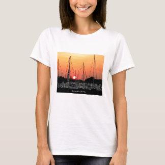 Kemahテキサス州の日没 Tシャツ