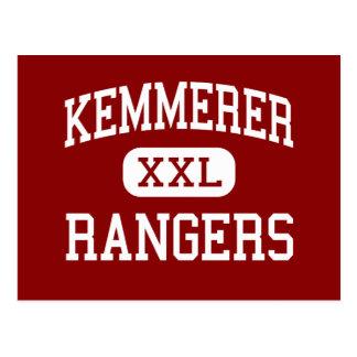 Kemmerer -レーンジャー-高Kemmererワイオミング ポストカード