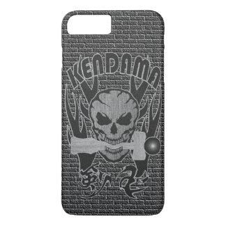 Kendama , Skull , Traditional Japanese toy , Kanji iPhone 8 Plus/7 Plusケース