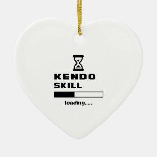 Kendoの技術のローディング...... セラミックオーナメント