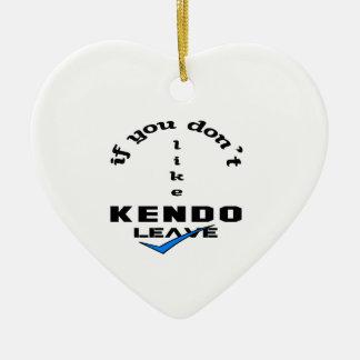 Kendoの許可を好まなければ セラミックオーナメント