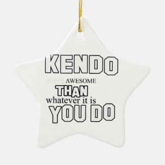 kendoの軍デザイン セラミックオーナメント
