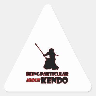 kendoの     デザイン 三角形シール