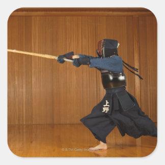 KendoのFencerの練習 スクエアシール