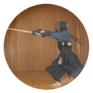 KendoのFencerの練習 プレート