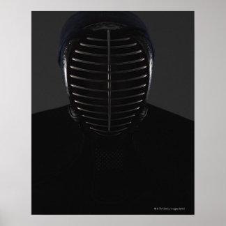 KendoのFencer 5のポートレート ポスター
