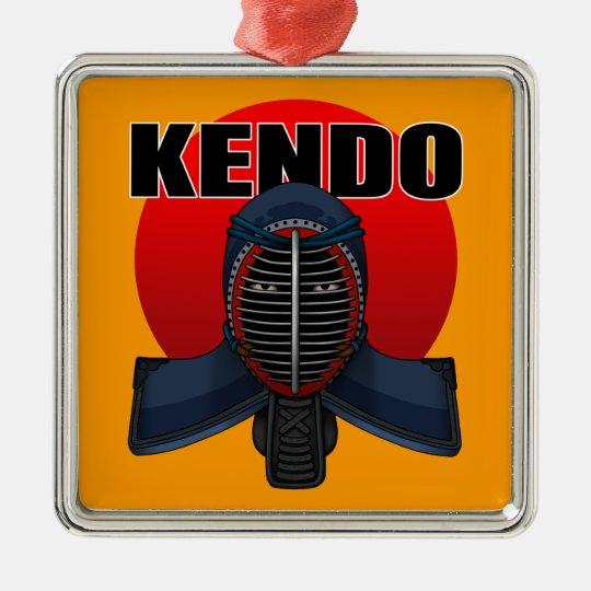 Kendo men1 メタルオーナメント