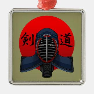 Kendo men2 メタルオーナメント