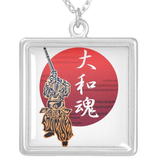 kendo yamatodamashii シルバープレートネックレス