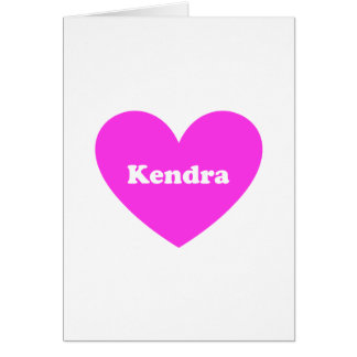 Kendra カード