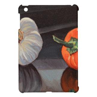 Kenneth_Cobb_2017_GarlicPepper_OilonCanvasBoard_5x iPad Miniケース