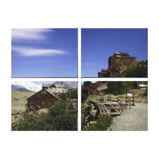 Kennicottの銅山- McCarthyアラスカ キャンバスプリント