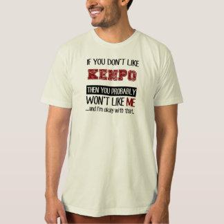 Kenpoのカッコいいを好まなければ Tシャツ