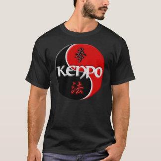 Kenpoの陰陽の暗闇のTシャツ Tシャツ
