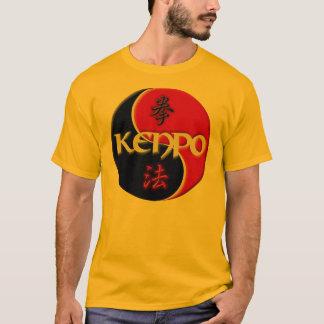 Kenpoの陰陽のTシャツ Tシャツ