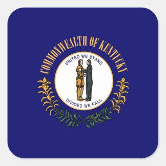 Kentuckeeの旗 スクエアシール