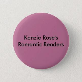Kenzieのバラのロマンチックな読者ボタン 5.7cm 丸型バッジ