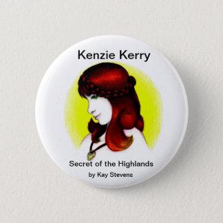 Kenzieケリーボタン 5.7cm 丸型バッジ