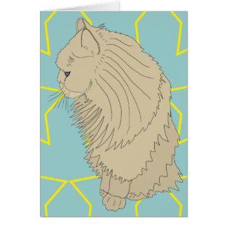Kenzo豪奢な猫 カード