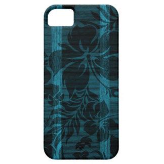Keokeaのビーチの模造のな木製のサーフボードのiPhone 5つのケース iPhone SE/5/5s ケース