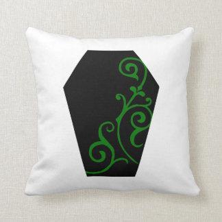 Kerandaのアイボリーの(緑の)枕 クッション