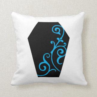 Kerandaのアイボリーの(青緑色の)枕 クッション