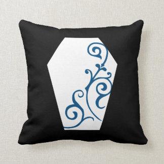Kerandaの黒檀の(青い)枕 クッション
