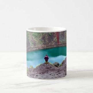 Keridの噴火口、アイスランド コーヒーマグカップ