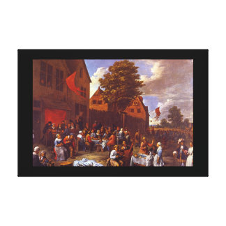 Kermesse', G. van Tilborgh_Dutch Masters キャンバスプリント
