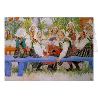 Kerstiの誕生日1909年 グリーティングカード