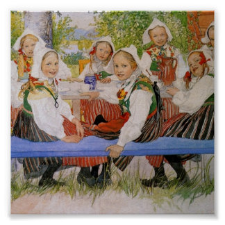 Kerstiの誕生日1909年 ポスター