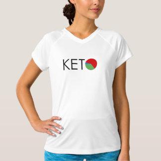 KETOのダイエットのマクロ女性の乾燥適合のTシャツ Tシャツ
