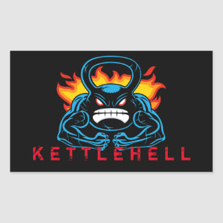kettlehell 長方形シール
