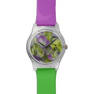 Keukenhofの庭のアジサイ 腕時計