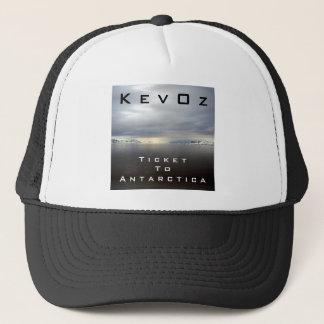 KevOz著南極大陸へのチケット、 キャップ