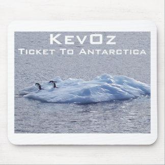 KevOz著南極大陸へのチケット、 マウスパッド