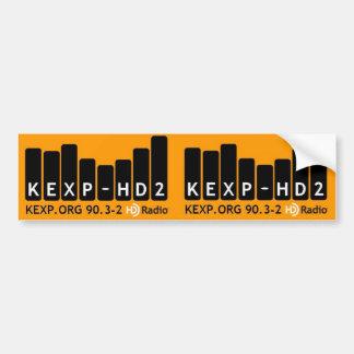 KEXP-HD2バンパーステッカー バンパーステッカー
